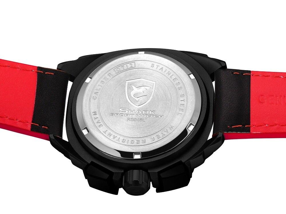 HTB1TLg bkyWBuNjy0Fpq6yssXXaU - Tiger Shark 3rd Generation Sport Watch - Red SH417