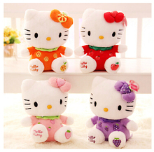 New arrival sitting height 20cm hello kitty plush toys hello kitty toys doll for children HT95600MU