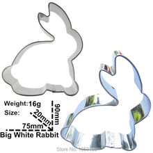 Animal Chocolate Cake Decorating Tools Hot Selling,Australian White Rabbits Shape Cake Cookie Biscuit Baking Mold,Direct Selling