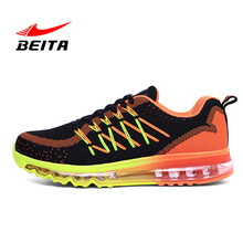 Men's Sneakers Brand Mesh Outdoor Athletic Shoe Light Male Shoe Air Max Breathable Running Shoe for Men Running Sports Shoe(China)