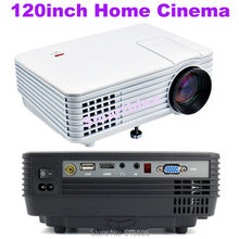 Cheap Pico Mini Projector 1800lumens 800x480pixels Handheld LED home theater Projector TV Video Games Digital Beamer Proyector