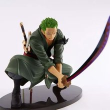 1 Pcs Decisive Battle Version Anime One Piece Roronoa Zoro PVC Figure Sword Katana Toy 14 CM PVC Action Figure Model Toy Gift(China)