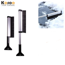 KOSOO winter snow shovel telescopic snow shovel car snow removing helper Multifunction Extendable Car Snow Brush ice shovel