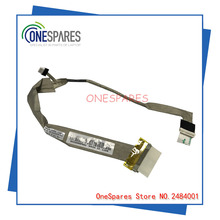 New Laptop LCD Screen Video Flex Cable For Toshiba For Satellite A200 A205 A210 A215 screen cable DC02000F900
