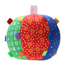 Ball Bell Children Multicolor Toys Baby Hand Grasp Ball Cloth Music Sense Learning Kids Children Play Fun Toys Ball