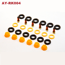 6sets Fuel Injector Repair Kits Injectors Gasket Set Filter Set For BMW E60 E39 520i 523i 525i 528i car replacement (AY-RK004)(China)