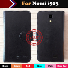 Nomi i503 Case Factory Price 6 Colors Fashion Slip Leather Exclusive Case For Nomi i503 Protective Phone Cover+Tracking(China)