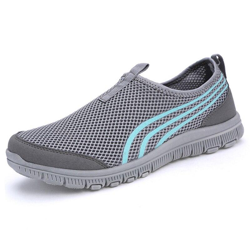Fashion Men Shoes For Summer Male Casual Shoes Hombre Zapatillas Deportivas Men Casual Shoes ,Air Mesh Male Flats<br><br>Aliexpress