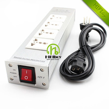 HIFI audio power filter socket HiFi Power Filter Plant Schuko Socket