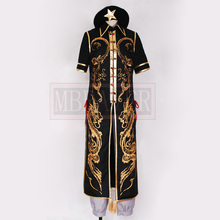 The Touhou Project Hoan Meirin Cosplay Costume Dragon Design Black Cheongsam Uniform Party Anime Clothing Custom Made Any Size(China)