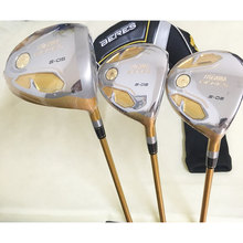 New mens Golf clubs S-05 4 star golf wood set driver+2 fairway wood with graphite golf shaft R S or SR flex free shipping(China)