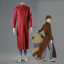 Athemis new Anime Naruto Gaara Cosplay Costumes Long Coat