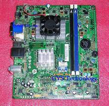 Free shipping for original motherboard for H-AFT1-uDTX-1 mini ITX with E350 647985-001 647985-002 work perfect