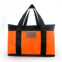 New Fashion Portable Insulated Nylon lunch Bag Thermal Food Picnic Bag for Women kids Men Cooler bag Lunch box thermo or cooler