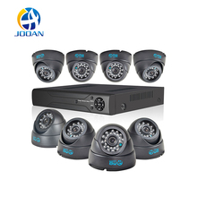 JOOAN 8CH CCTV System 960H HDMI CCTV DVR 4PCS HD 700TVL Indoor Dome CCTV Camera 24 LEDs Home Security System Surveillance Kits