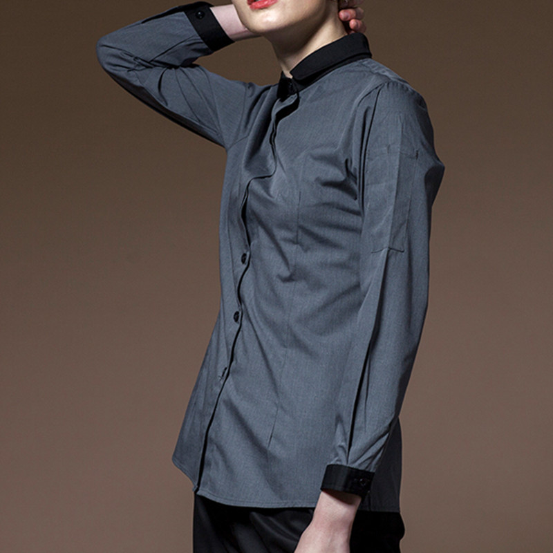 Long Sleeve Hospitality Work Wear D84-5