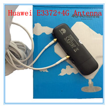 Unlocked Huawei E3372 plus Antenna 4G LTE 150Mbps USB Modem 4G LTE USB Dongle USB Stick Datacard(China)