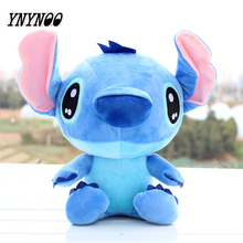 YNYNOO Discount 20cm Kawaii Stitch Plush Toys Anime Lilo and Stitch Soft Stuffed Animal Dolls Stich Plush Children Birthday Gift(China)