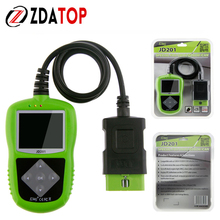 100% Original JD-201 Code Reader Update Online Via Internet Directly High Quality JDiag JD-201 Newer Vehicles OBD II & CAN(China)