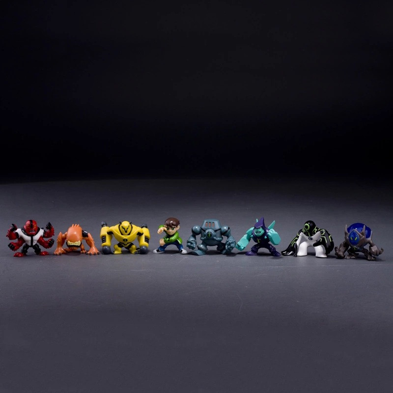 8Pieces-5CM-Ben-10-new-high-quality-Protector-of-Earth-Family-Action-Figures-Brinquedos-Toys-free (1)