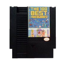 The Best Games For NES game cartridge 100 in 1 with Dust Sleeve(China)