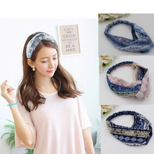 Wholesale High Quality 10colors Available Hair Accessory Turban Provide Drop Shipping Women Headbands On Aliexpress Tie Headband