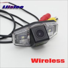 Liislee HD Back Up Reverse Camera For Acura CSX RDX ILX ZDX / Wireless Car Rear View Camera / Night Vision / DIY Plug & Play(China)