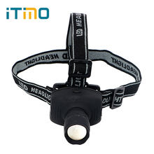 Energy Saving Spotlight Zoomable 3 Modes Emergency Light For Outdoor Activities Headlight LED Headlamps(China)