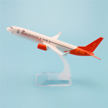 16cm Air Malaysia Fireflyz Airlines Plane Model Boeing 737 B737 800 Alloy Metal Airplane Model Kids  Gift
