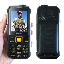 Original KUH T998 Rugged Cell Phone With Power Bank Shockproof Dustproof Bluetooth 3.0 Mp3 Mp4 Flashlight FM Can Add Russ Key(China)