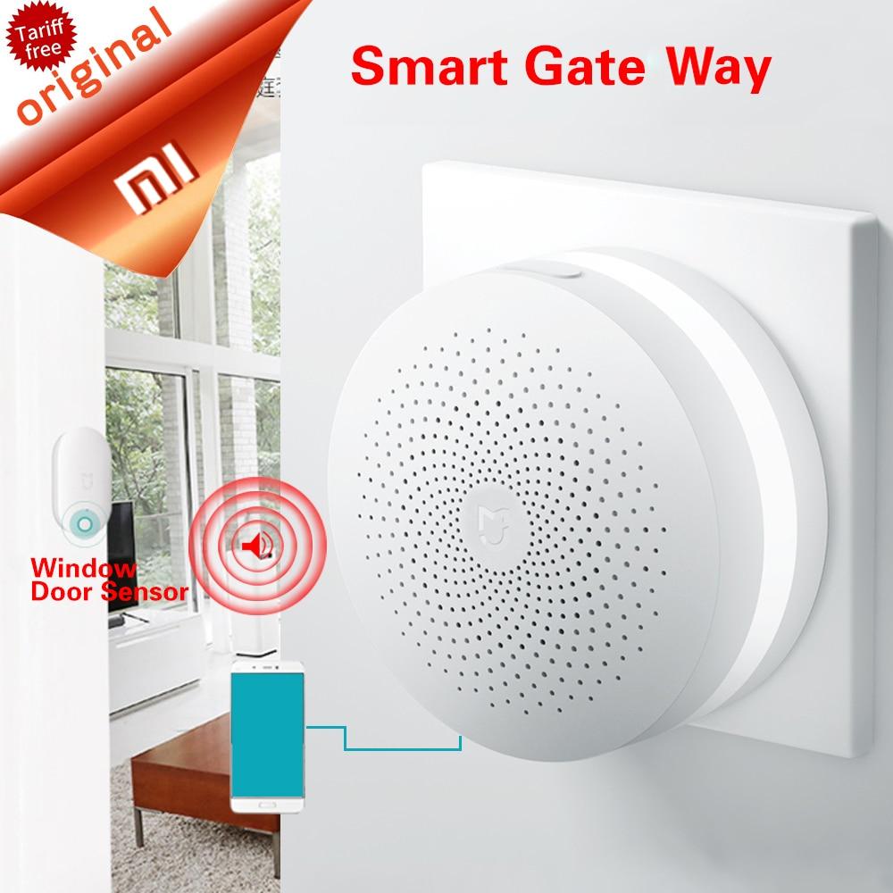 Original Xiaomi Gate Way Mi Smart Control Center Smart Home Kit Upgrade Version Control Radio Yi Camers Other Smart Home Kits<br>