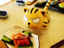 Free shipping orignal ToraDora! Tiger X Dragon Taiga Tiger Plush Toy Stuffed Doll