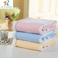 Romanee Brand Home Bath Towel Cotton  Rabbit 1 Pieces Soft Towel Home Hotel Towel Quick Absorbency High Textile Bathroom Gift