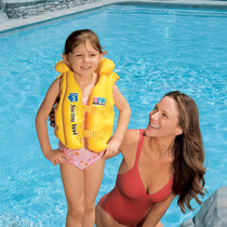S/M/L adjustable inflatable games swimming vest (children) baby child swimming life jacket,