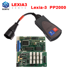 Lexia 3 PP2000 Diagbox V7.83 OBD OBD2 Diagnostic Tool For Citroen/ Peugeot Support Multi-language+30pin OBD2 Cable as Free Gift