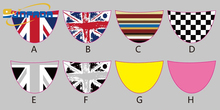 SUNFADA New Design PVC National Flag Steering Wheel Decoration Car Stickers For BMW MINI COOPER Car Styling(China)