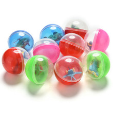 10Pcs New Children Kids Games Ball Funny Plastic Toy Ball Animal In Shilly Egg Balls Toy Color Random Bouncing Ball