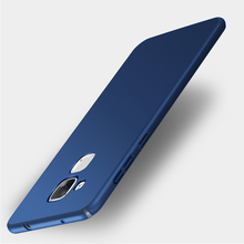 For Huawei Honor 5c Case 5.2 inch Scrub Ultra Thin Luxury Colorful Hard PC Plastic Back Cover For Huawei Honor 7 Lite GT3 Case