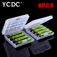 New Green YCDC 8pcs 1.2V 1000mAh Ni-Mh AAA Battery Rechargeable Batteries For Remote controls, Radios Torches Clocks Toys
