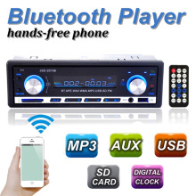autoradio 1 Din 12V Car audio BLUETOOTH Stereo In-dash FM Receiver Aux Input USB/SD Audio MP3 car radio with Removable panel