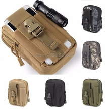 For Tactical Holster Military Molle Hip Waist Belt Bag Wallet Pouch Purse Phone Case -R179 Drop Shipping