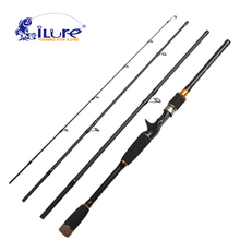 iLure fishing rod spinning fishing rod 99% carbon telescope rod 2.1m 2.4m 2.7m 3m angel fishing rod fishing tackle peche pesca(China)