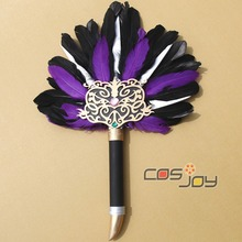Dynasty Warriors Sima Yi's Fan PVC Replica Cosplay Prop -0233