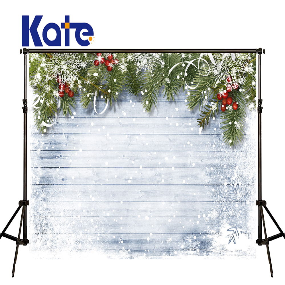 KATE Photography Christmas Backdrops Christmas Decorations for Home Children Decoration Navidad Snowflakes Backdrops US Delivery<br>