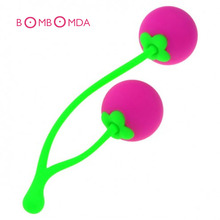 Buy Silicone Smart Ball Female Cherry Kegel Ball Vaginal Tight Exercise Smart Love Vagina Balls Sex Toys Women Masturbation