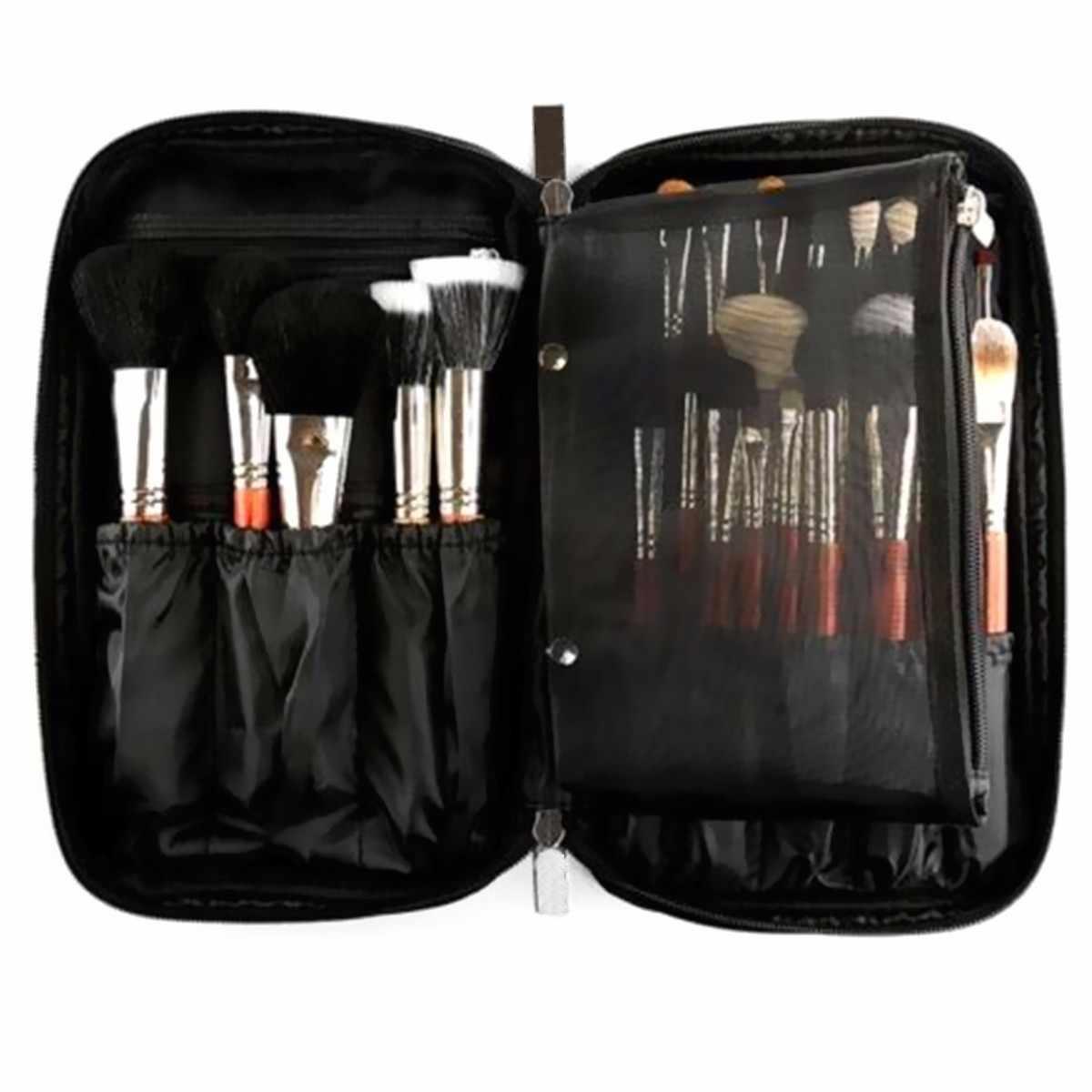 126f000165 1PCS Make Up Brush Organizer Travel Toiletry Handbag Cosmetic Storage Case  Beauty Tool Pouch Bag Women