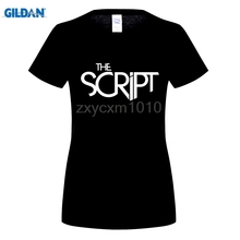 GILDAN Arrival Men New Famous Brand woman Shirts Homme Novelty Tshirt woman The Script Band LogoCreate Your Own Shirt t shirt(China)