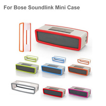 Factory Outlet Fashion Soft Silicone Case Cover For Bose SoundLink Mini 1/2 Bluetooth Speaker 7 Colors