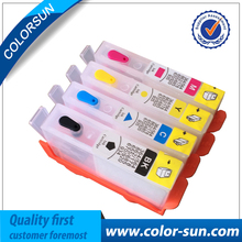 4PCS for HP178 178XL Refillable Ink Cartridge for HP Photosmart 5510 5515 6510 7510 B109a B109n B110a Printer With Chip 4 color(China)