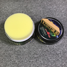 JEAZEA Waterproof Car Polishing Paste Wax Paint Care Hard Wax with Sponge only for Dark Color Black Red Iron Red Green(China)